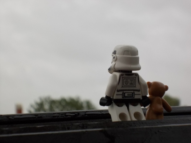 Lonely stormtrooper