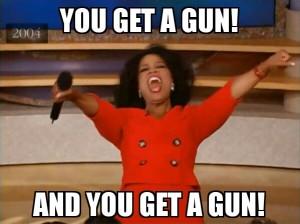 Oprah You Get a Gun